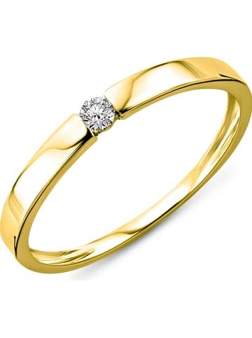Diamant Exquis Gouden ring met diamanten