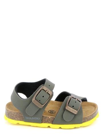 Grünland Sandalen kaki