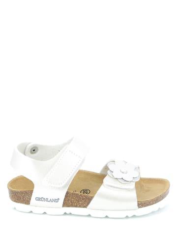 Grünland Junior Sandalen in Weiß