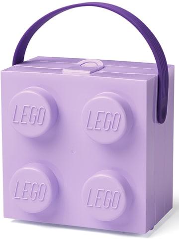 "LEGO Lunchbox ""Brick 4"" paars - (B)16,5 x (H)11,6 x (D)17,3 cm"