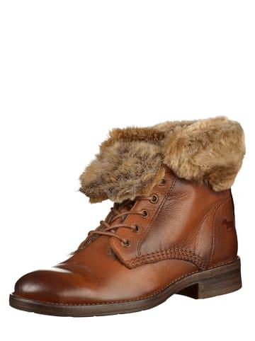 MUSTANG SHOES Boots cognackleurig