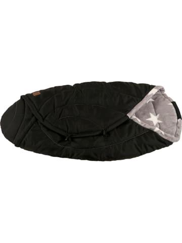 "Kaiser Naturfellprodukte Thermo-wikkeldeken ""Coon"" zwart/grijs - (L)80 x (B)40 cm"