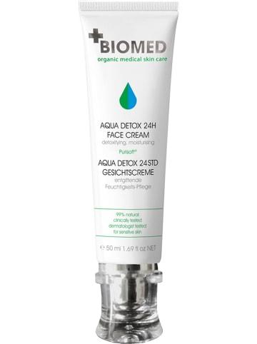 """BIOMED Gezichtscrème """"Aqua Detox 24 h"""" 50 ml"""