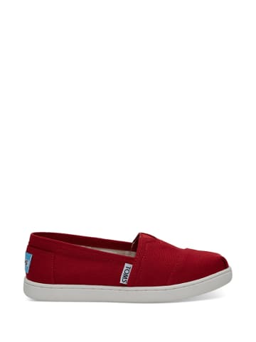 TOMS Instappers rood