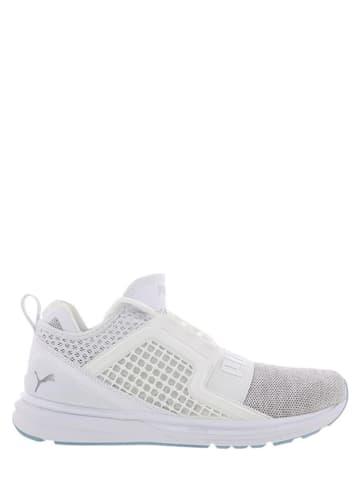 """Puma Sneakersy """"Ignite Limitless Knit"""" w kolorze białym"""