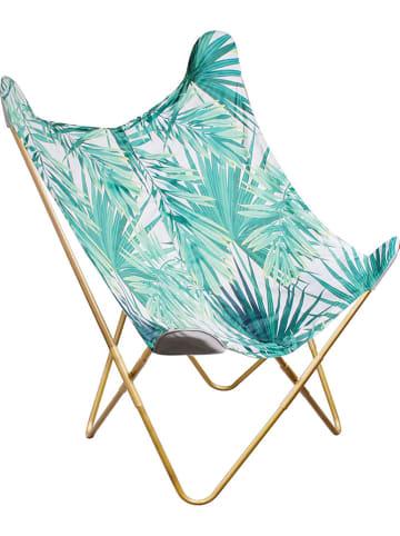 Garden Spirit Fotel w kolorze zielonym - 74 x 79 x 101 cm