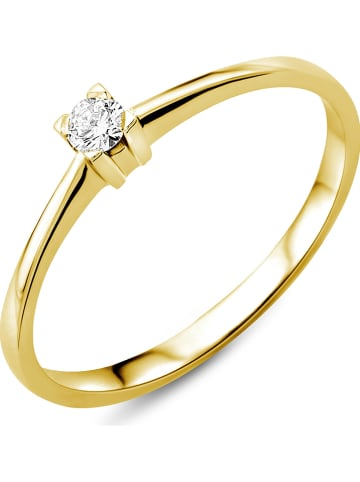 Revoni Złoty pierścionek z diamentem