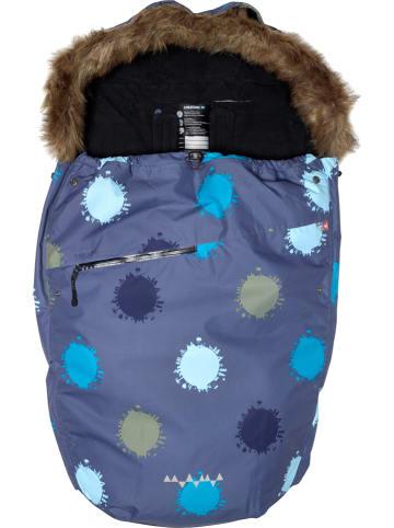 Isbjörn Śpiworek dziecięcy w kolorze szaro-niebieskim