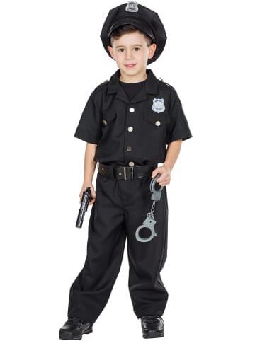 """Rubie`s 2-delig kostuum """"Police Officer"""" zwart"""