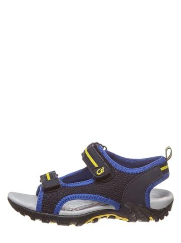 Lamino Sandały w kolorze granatowo-niebieskim