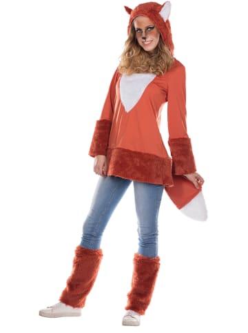 """Rubie`s 2-delig kostuum """"Vos"""" oranje"""
