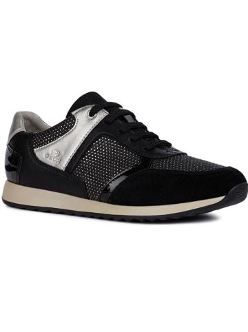 """Geox Sneakers """"Deynna"""" zwart"""