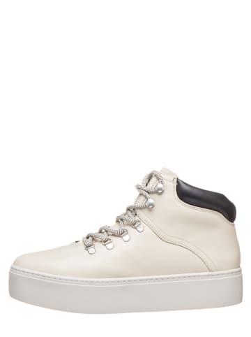 Vagabond Leder-Sneakers in Creme