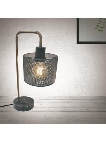 Rétro Chic Tafellamp grijs - (H)40 cm