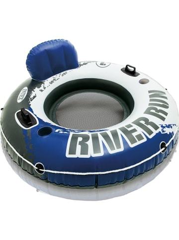 """Intex Luchtlounge """"RiverRun 1"""" blauw/wit"""