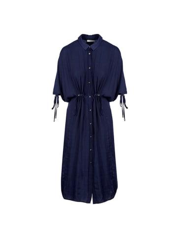 Tova Tova Knielange Kleider (Midi)  in dunkelblau
