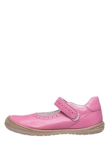 BO-BELL Leder-Spangenballerinas in Pink