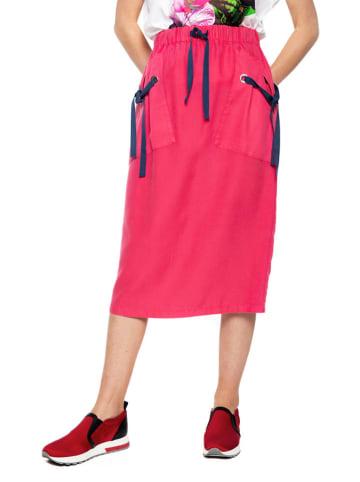 Deni Cler Spódnica w kolorze różowym
