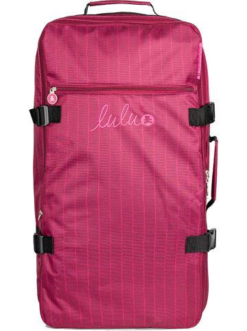 "Lulu Castagnette Reisetasche ""Stripes"" in Pink - (B)36 x (H)70 x (T)36 cm"
