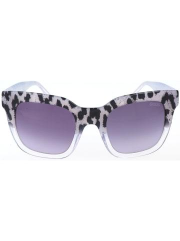 Guess Damen-Sonnenbrille in Schwarz/ Grau