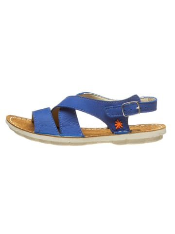 Art Kids Leren sandalen blauw