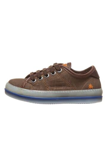 Art Kids Sneakersy w kolorze brązowym