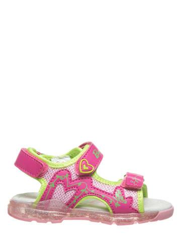 Barbie Sandały w kolorze różowym