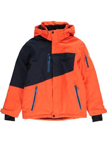 """Killtec Ski-/snowboardjas """"Porto"""" oranje/zwart"""