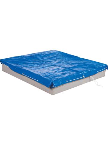 Roba Abdeckplane für Sandkästen in Blau - (L)154 x (B)154 cm