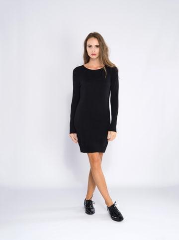 Perfect Cashmere Kasjmier jurk zwart