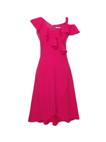 Moda Su Sukienka w kolorze malinowym