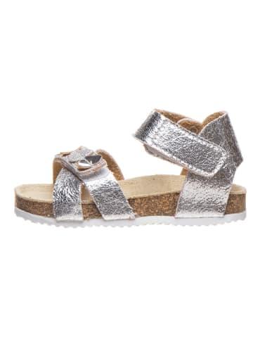 Billowy Sandały w kolorze srebrnym