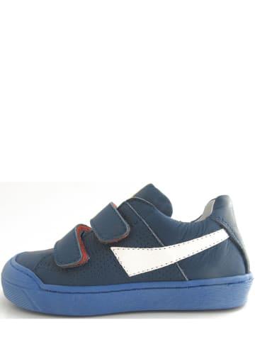 FR by Romagnoli Leder-Sneakers in Dunkelblau