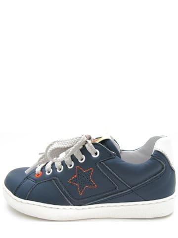 FR by Romagnoli Leder-Sneakers in Blau