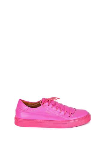 Noosy Leren sneakers fuchsia