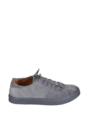 Noosy Skórzane sneakersy w kolorze niebieskim