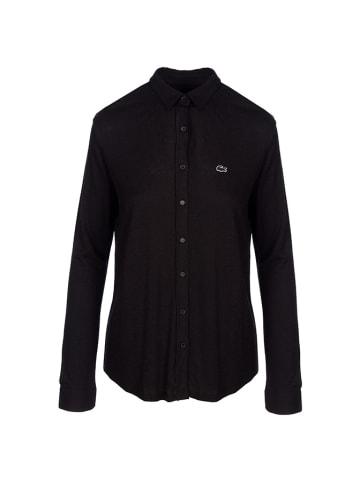 Lacoste Koszulka polo w kolorze czarnym