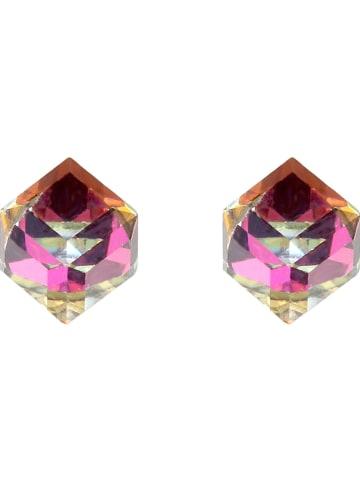 MAISON D'ARGENT Zilveren oorstekers met edelstenen