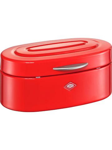 """WESCO Voorraadpot """"Mini Elly"""" rood - (B)22,5 x (H)10 x (D)13,6 cm"""
