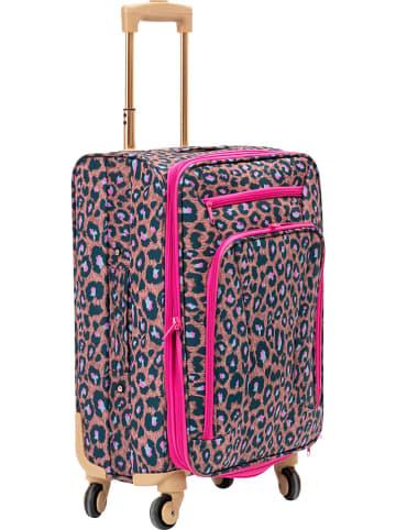 Rice Softcase-trolley roze - (B)35,5 x (H)50,5 x (D)24 cm