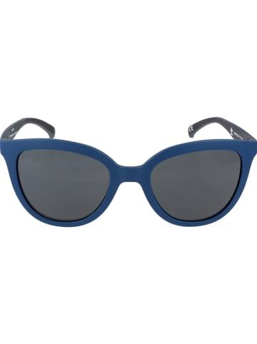 Adidas Damen-Sonnenbrille in Blau/ Schwarz