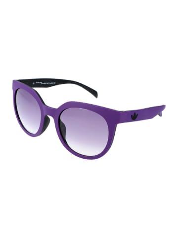 Adidas Damskie okulary przeciwsłoneczne w kolorze fioletowym
