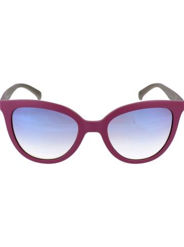 Adidas Damen-Sonnenbrille in Rot/ Blau