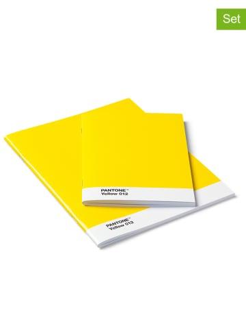 Pantone 2er-Set: Notizbücher in Gelb