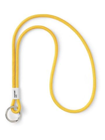 COPENHAGEN.DESIGN Zawieszka w kolorze żółym do kluczy - dł. 48 cm