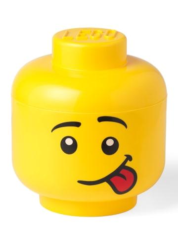 """LEGO Aufbewahrungsbox """"Silly"""" in Gelb - (H)27,1 x Ø 24 cm"""
