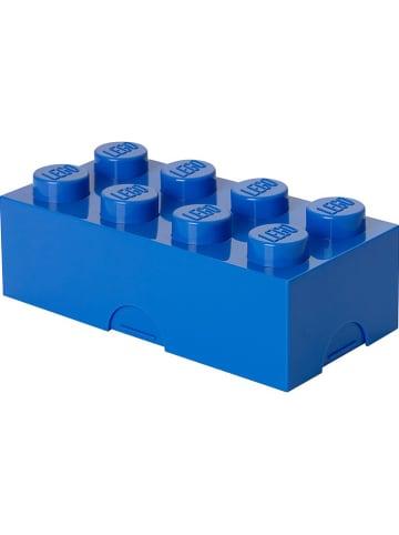 "LEGO Lunchbox ""Classic Brick 8"" blauw - (B)20 x (H)7,3 x (D)10 cm"