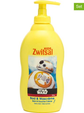 """Zwitsal 6er-Set: Kinder Bad- & Waschcreme """"Star Wars"""", je 400 ml"""