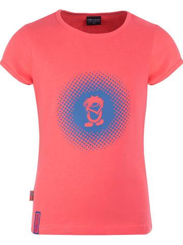 """Trollkids Functioneel shirt """"Logo"""" roze"""