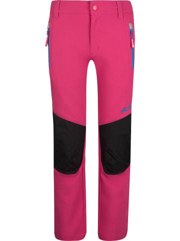 """Trollkids Softshellbroek """"Lysefjord"""" roze/blauw"""